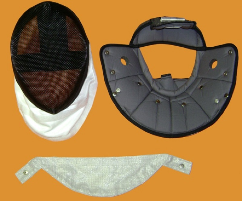 Exchangeable combination mask epee/foil FWF, 1600 N FIE