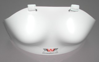Breast protector integral women