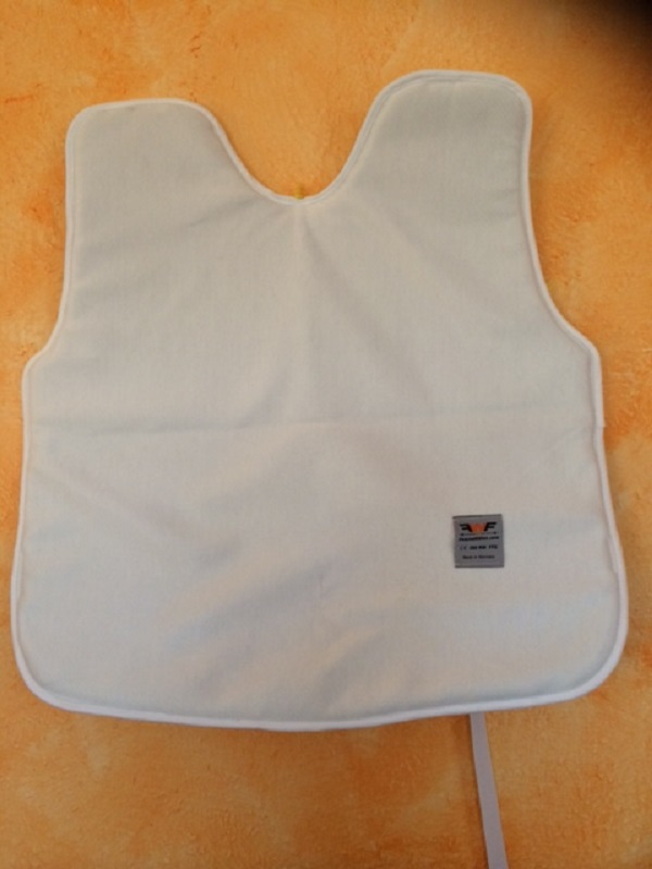 Upper body protection 350N, padded with foam material